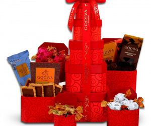 $24.98 (was $49.98) Godiva Chocolate Gift Tower