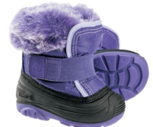 $9.88 (was $46.99) Kamik Toddlers' Sugarplum Pac Boots