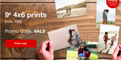 Get 4″x6″ Prints at CVS for just 9¢ Each- NO LIMIT!