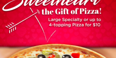 Large Specialty for just $10 at Mazzios ...