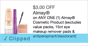 *HIGH VALUE* $3/1 Almay Printable Coupon
