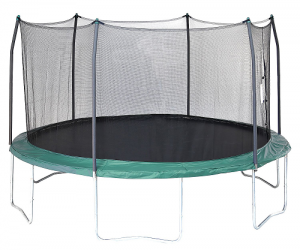 $199.99 (was $403.99) Skywalker Trampolines 15′ Round Trampoline and Enclosure