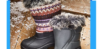 $11.79 Transco Winter Boots (Today Only)...