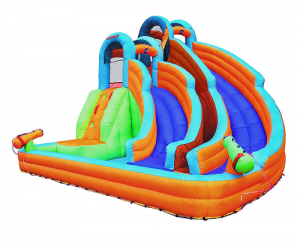 $299.98 (was $498.49) Twin Peaks Splash and Slide by Sportspower