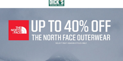 Up To 40% OFF The North Face Jackets & Fleece