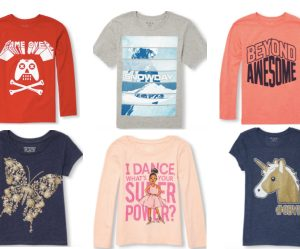 Kids Tees just $2.85-$3.15 at The Children's Place- Long and Short Sleeved!!