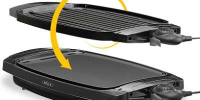 $18.63 (was $74.99) Bella 2-in-1 Reversible Non-Stick Grill Griddle