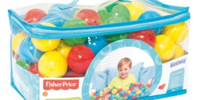 $9.99 (was $20.10) Bestway – Fisher-Price 2.2 Inches 100 Play Balls