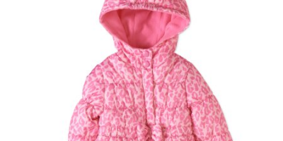 $5 (was $19.97) Child of Mine by Carter's Baby Girl Peplum Bubble Jacket
