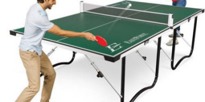$90 (was $249.99) EastPoint Sports Easy Setup Fold 'N Store Table Tennis Table – 15mm Top