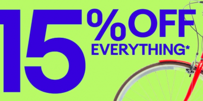 *HOT* Take 15% off of EVERYTHING at Ebay!