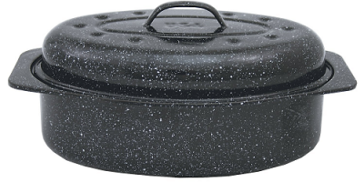 CHEAP Deal On This Granite Ware Covered Oval Roaster