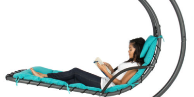 $129.99 (was $399.99) Hanging Chaise Lounger Chair