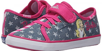 $12 (was $40) Keds Kids Barbie AC Split ...