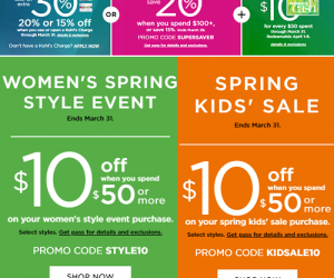 New 30% OFF Kohl's Coupon Code, Deal Ideas And More!