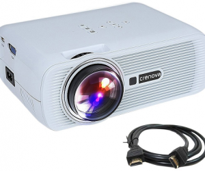 Great Price On This Crenova XPE460 LED Video Projector!
