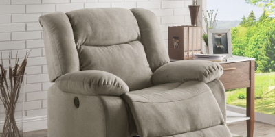 Nice Deal On This Lifestyle Power Recliner Fabric!