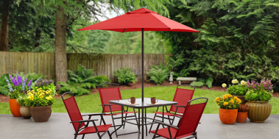 $79 (was $124) Mainstays Albany Lane 6-Piece Folding Dining Set, Multiple Colors