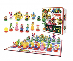 $17.99 (was $40) Super Mario Chess Game