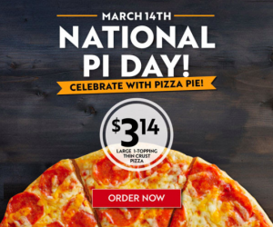 $3.14 Large Pizzas at Papa Murphy's Today!