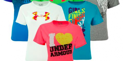 3-Pack of Girls Under Armour T-Shirts: $28.99 SHIPPED