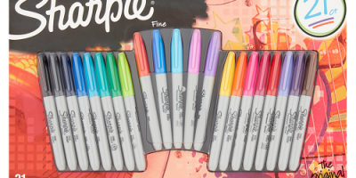 Only $7.50 Sharpie The Original Fine Permanent Marker, 21 pack