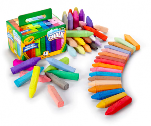 $3.50  Crayola 48-pk. Tropical Sidewalk Chalk