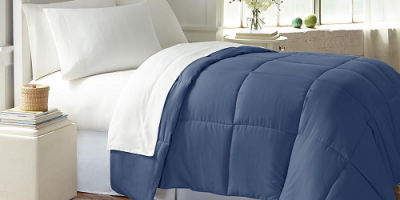 As Low As $14.99 Wexley Home All-Seasons Down-Alternative Comforter