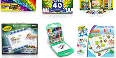 Awesome Deals On Select Crayola Items (Today Only)
