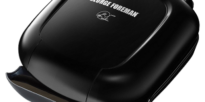 NICE Price On This George Foreman GR0040B 2-Serving Classic Plate Grill, Black
