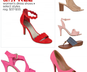 Buy 1 Get 2 Pairs Women's Shoes Free!