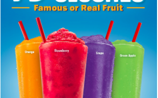 79¢ Slushes at Sonic on March 22nd!