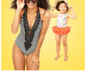 BOGO 50% Off Swimsuits At Target!