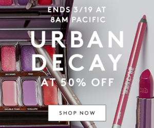 50% OFF Urban Decay Sale At NordstromRack