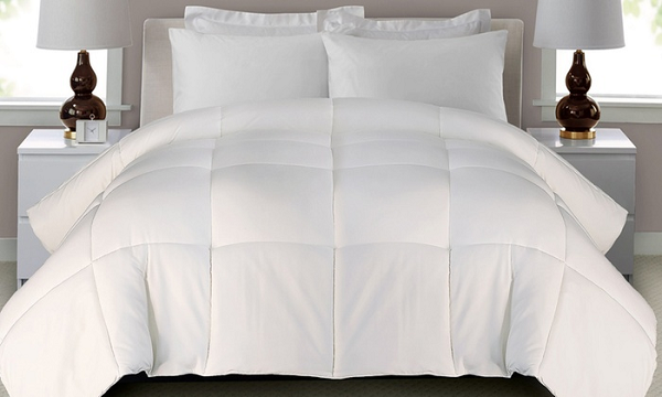 $14.99 (was $100) All Season Down Alternative White Comforter