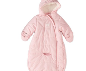 $5 (was $19.97)Baby Girl Puffer Snowsuit