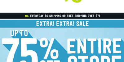 Up To 75% Off At Crazy 8