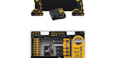Price Drop: DEWALT Combo Kit (Today Only)