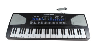 $9.97 (was $29.97) Deluxe Concert 54-Key Electric Keyboard