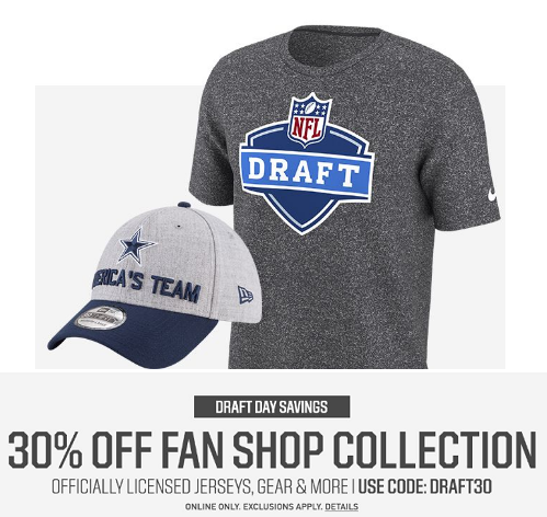 30% Off Fan Shop With Coupon Code