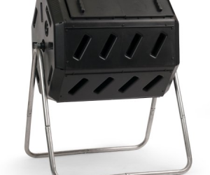$69 (was $99.93) Dual-Chamber Tumbling Composter