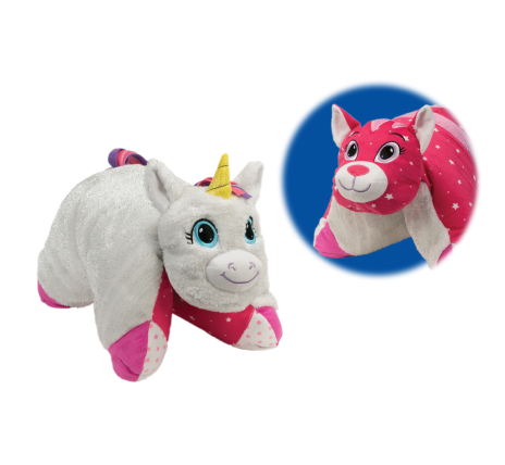 $5.99 (was $19.97) Flip N Play Friends Glitter Unicorn to Sparkle Kitty