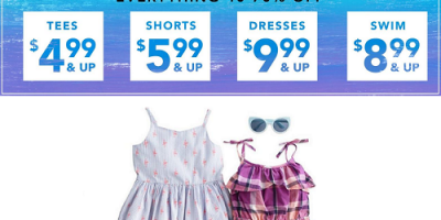 Everything 40-70% Off At Gymboree