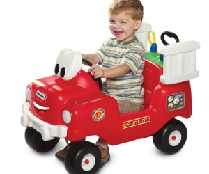 $45 (was $69) Little Tikes Spray & Rescue Fire Truck Foot to Floor Ride On