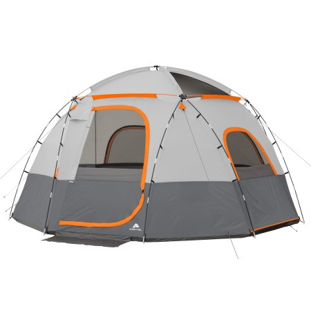 76 Was 199 Ozark Trail 9 Person Sphere Tent With Rope