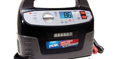 $35.99 (was $159.99) PEAK 15 Amp Heavy Duty Smart Automatic Battery Charger