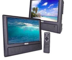 $49.97 (was $99.97) RCA 9″ Mobile Dual Screen DVD Player