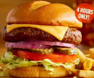 Ruby Tuesday: $5 Classic Cheeseburger and Fries