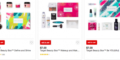FIVE New Beauty Boxes at Target!