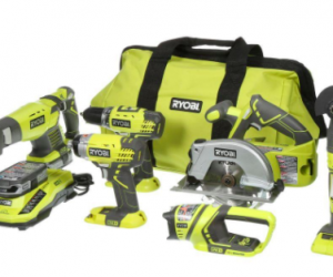 18-Volt ONE+ Lithium-Ion Ultimate Combo Kit (6-Tool)